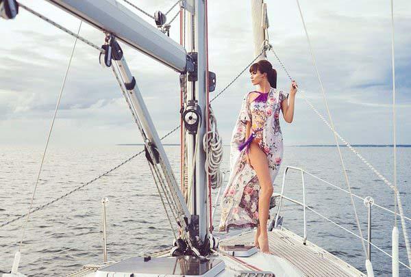 Фото-сессия на яхте в Сочи