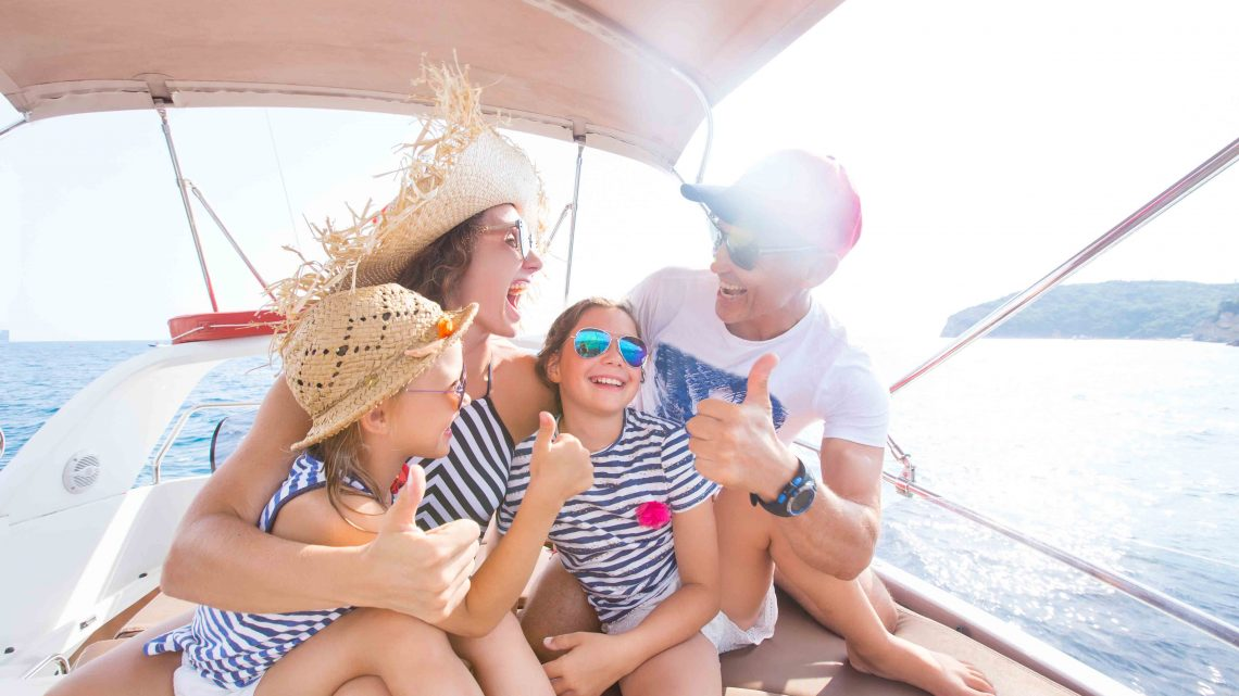 Семейный отдых на яхте